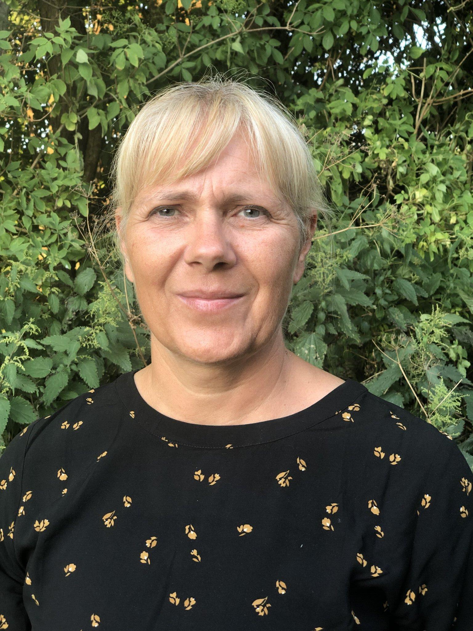 Dorte Strand, ansvarlig for hjemmesiden